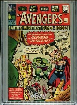 1963 Marvel Avengers #1 1st Appearance Avengers Cgc 8.0 Off-white