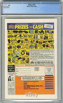 1976 X-Men 101 CGC 9.2 & 137 CGC 9.8 1st Phoenix & Death White Pages