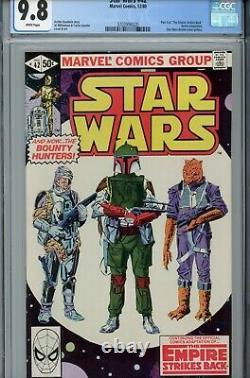 1980 Marvel Star Wars #42 CGC 9.8 White Pages 1st Boba Fett