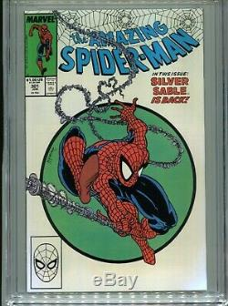 1988 MARVEL AMAZING SPIDER-MAN #301 TODD McFARLANE #300 HOMAGE CGC 9.8 WHITE BX3