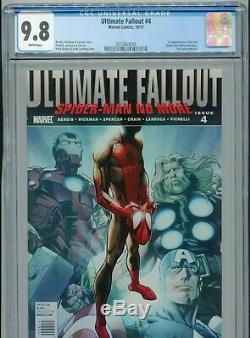 2011 Marvel Ultimate Fallout #4 1st Appearance Miles Morales Cgc 9.8 White