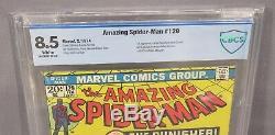 AMAZING SPIDER-MAN #129 (Punisher 1st app, White Pgs.) CBCS 8.5 Marvel 1974 cgc