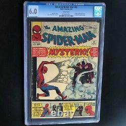 AMAZING SPIDER-MAN #13 (1964) CGC 6.0 White 1ST APP OF MYSTERIO! MEGA-KEY