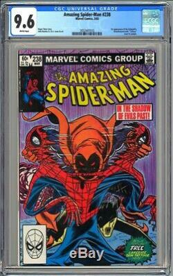 AMAZING SPIDER-MAN #238 CGC 9.6 White NM+ First HOBGOBLIN