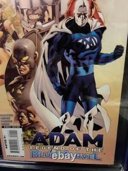 Adam Legend of the Blue Marvel #1 1st App Blue Marvel CGC 9.8 White Pages