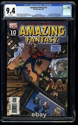 Amazing Fantasy #15 CGC NM 9.4 White Pages 1st Amadeus Cho