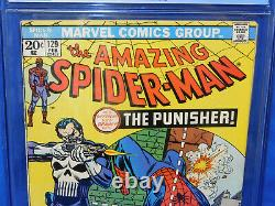 Amazing Spider-Man 129 CGC 3.5 OW To White Pages 1st Appearance of the Punisher