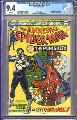 Amazing Spider-Man #129 CGC 9.4 NM WHITE Pages Universal CGC #1361206002