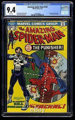 Amazing Spider-Man #129 CGC NM 9.4 White Perfect Centering
