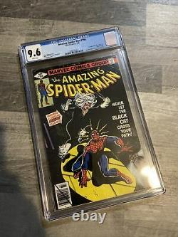 Amazing Spider-Man # 194 CGC 9.6 White (Marvel, 1979) 1st appearance Black Cat