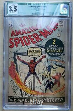Amazing Spider-Man #1 CGC 3.5 (1963) OFF WHITE PAGES