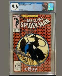 Amazing Spider-Man #300 9.6 CGC White pages. Todd McFarlane. Venom 1st app