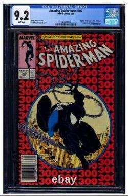 Amazing Spider-Man #300 CGC 9.2 White pgs NEWSSTAND 1st full appearance VENOM
