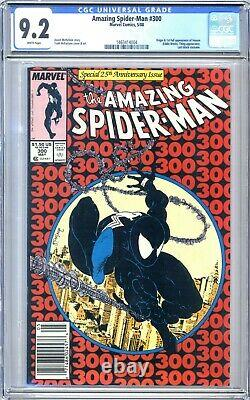 Amazing Spider-Man #300 CGC 9.2 White pgs NEWSSTAND 1st full appearance VENOM