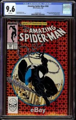 Amazing Spider-Man # 300 CGC 9.6 White (Marvel 1988) 1st appearance of Venom