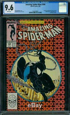 Amazing Spider-Man 300 CGC 9.6 White Pages
