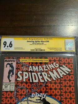 Amazing Spider-Man #300 CGC 9.6 white SS signed Todd McFarlane 1st VENOM