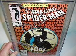Amazing Spider-Man #300 CGC 9.6 with WHITE PAGES 1988! 1st Venom not CBCS