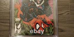 Amazing Spider-Man #316 CGC 9.8 White Pages Todd McFarlane 1st Venom Cover