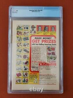 Amazing Spider-Man #97 CGC 9.2 White Pages! Drug Issue Not CCA Approved 1971