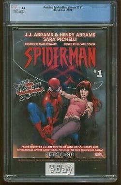 Amazing Spider-Man Venom 3D #1 CGC 9.8 WHITE PAGES (2019) #300 Cover Swipe 460