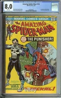 Amazing Spider-man #129 Cgc 8.0 White Pages