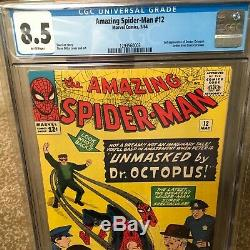 Amazing Spider-man #12 Cgc 8.5 White Pages