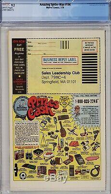 Amazing Spider-man #194 Cgc 9.2 1st Black Cat White Pages