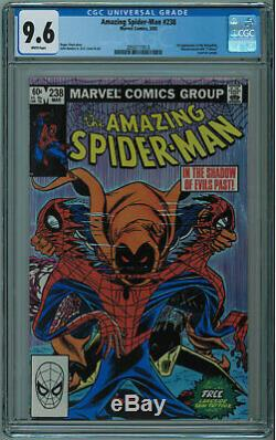 Amazing Spider-man #238 Cgc 9.6 1st Hobgoblin High Grade White Pages 1983