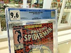 Amazing Spider-man #300 Marvel 5/88 Cgc 9.6 1st App Of Venom White Pages