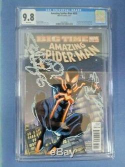Amazing Spiderman #650 CGC 9.8 White Pages Ramos 1st Spidey Stealth Suit