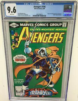 Avengers #196 CGC 9.6 White Pages (1st App. Taskmaster)