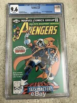 Avengers #196 cgc 9.6 white pages 1st Taskmaster HOT KEY Black Widow Movie soon