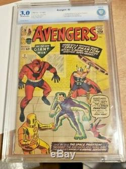 Avengers 2 CBCS (CGC) 3.0 Off-White / White Pages Marvel Silver Age