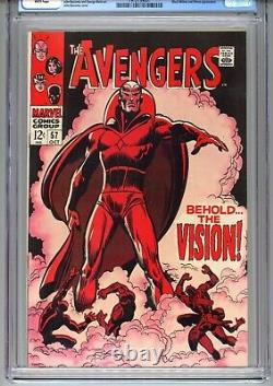 Avengers #57 (CGC 8.5) 1st app Silver Age Vision WHITE PAGES 1968 Marvel Comics