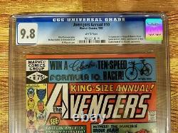 Avengers Annual #10 CGC 9.8 White Pages WP 1st Appearance Rogue & Madelyn Pryor