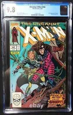 CCC Enterprises Uncanny Xmen #266 1st Full Gambit 9.8 White Pages