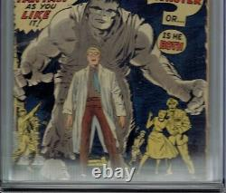 Cgc 4.0 Qualified Label Hulk #1 White Pages 1962