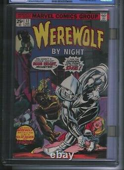 Cgc 9.4 Werewolf By Night #32 Cream To Off-white Pgs 1st Appearance Moon Knight