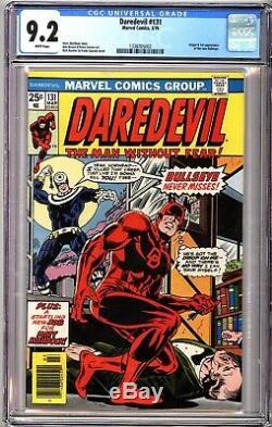 Daredevil 131 CGC 9.2 White 1st Bullseye