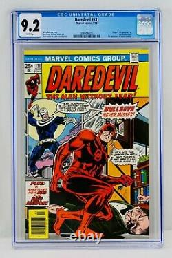 Daredevil #131 CGC 9.2 White Pages First Bullseye Appearance & Origin 1st App NM