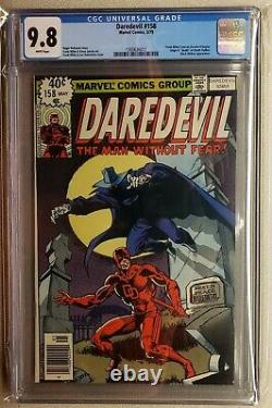 Daredevil #158 CGC 9.8 White Pages FIRST Frank Miller