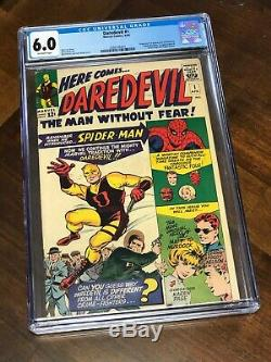 Daredevil #1 CGC 6.0 Off-White Marvel 1964