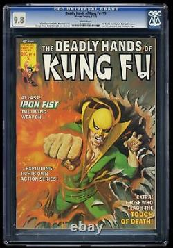 Deadly Hands of Kung Fu #19 CGC NM/M 9.8 White Pages 1st White Tiger