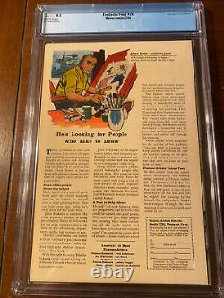 Fantastic Four #28 7/64 Cgc 8.5 White Pages Early X-men Crossover High Grade Key