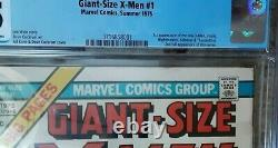 GIANT SIZE X-MEN #1 CGC 3.5 1975, Cream to OFF-WHITE PAGES 1ST Issue NEW X-MEN