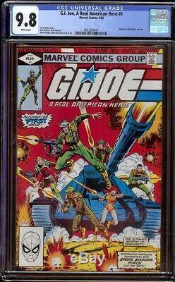 G. I. Joe # 1 CGC 9.8 White (Marvel 1982) 1st appearance Joe team Snake Eyes