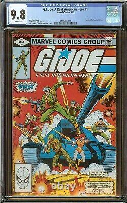 G. I. Joe, A Real American Hero #1 CGC 9.8 (White Pgs) 1982