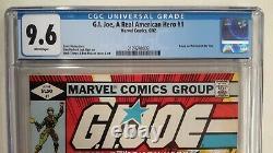 G. I. Joe Arah #1 Cgc 9.6(1982, Marvel)1st Printwhite Pagesbronze Key