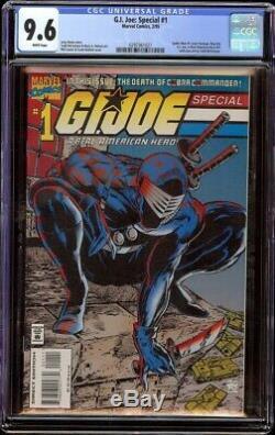 G. I. Joe Special # 1 CGC 9.6 White (Marvel 19945) Scarce issue
